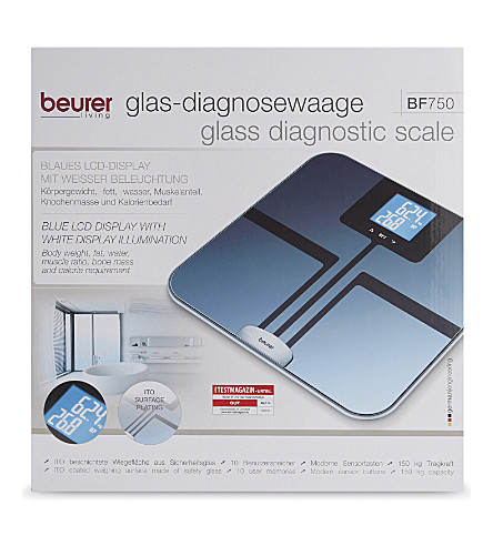BEURER Glass diagnostic scale