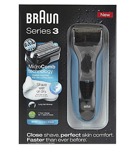 BRAUN 系列 3 干湿剃须刀