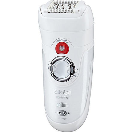 BRAUN Silk-épil 7 Wet & Dry legs, body and face epilator