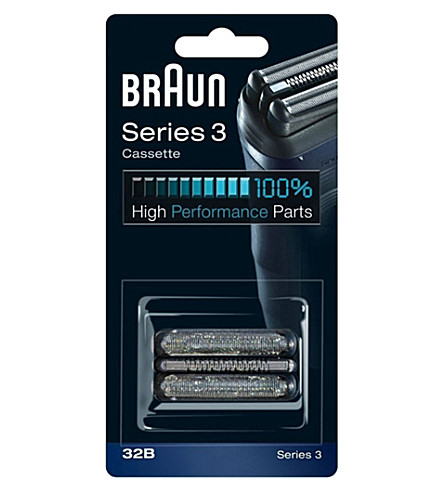 BRAUN Series 3 Cassette replacement foil and cutter block