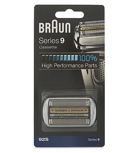 BRAUN 92S Series cassette head