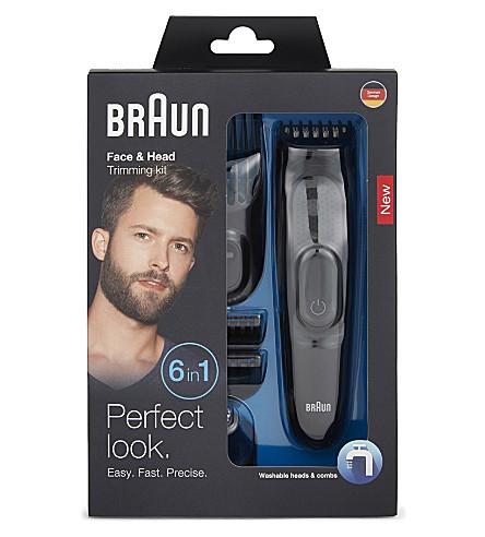 BRAUN Face & Head trimming kit 6-in-1