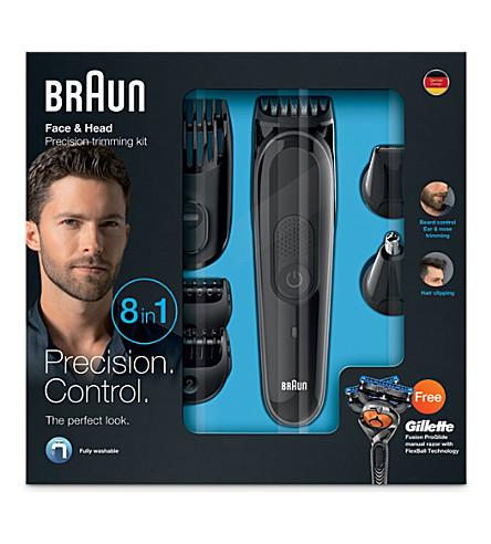 BRAUN Multi Grooming kit 8-in-one