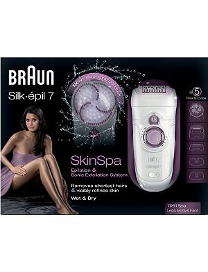 BRAUN Braun silkepil skin spa