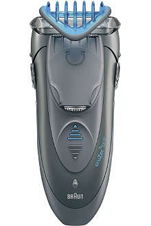 BRAUN cruZer6 face 3-in-1 shaver, styler and trimmer