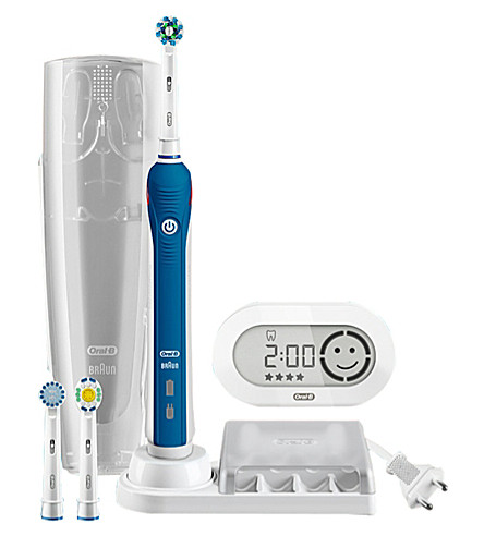 ORAL B Pro 6000 Bluetooth rechargeable toothbrush