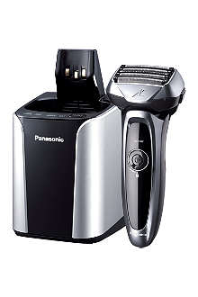 PANASONIC 5-Blade Wet/Dry Shaver with Cleaning & Charging System