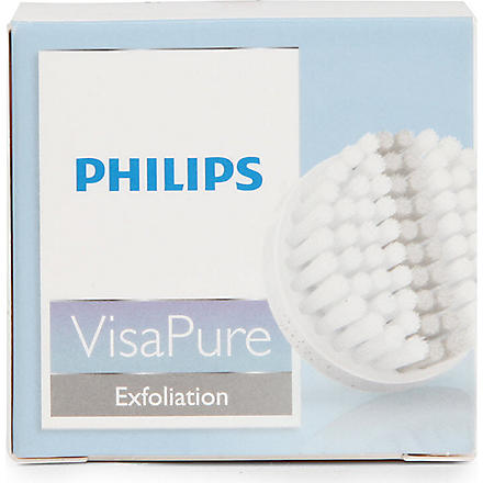 PHILIPS VisaPure Exfoliating replacement brush head