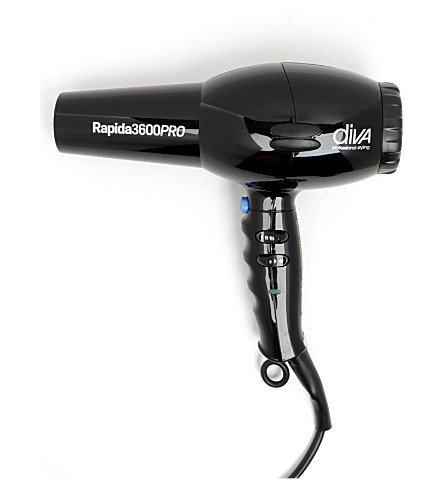 DIVA Rapida 3600 pro hair dryer