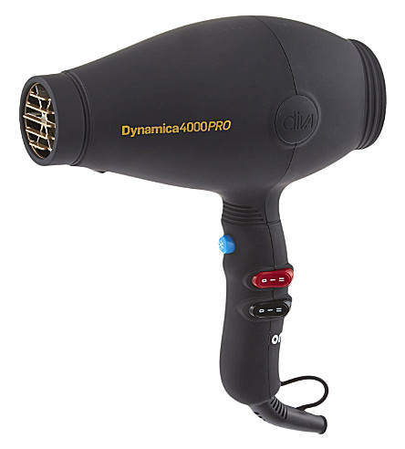 DIVA Dynamica 4000PRO black hair dryer