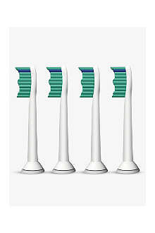 PHILIPS Pack of four ProResults standard sonic toothbrush heads