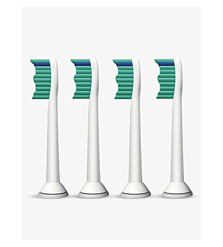 SONICARE Pack of four ProResults standard sonic toothbrush heads