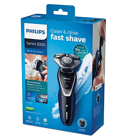PHILIPS Shaver Series 5000 Wet & Dry electric shaver with beard trimmer