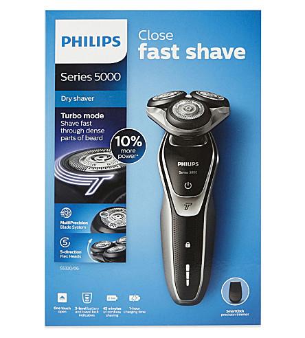 PHILIPS Turbo dry shaver s5320