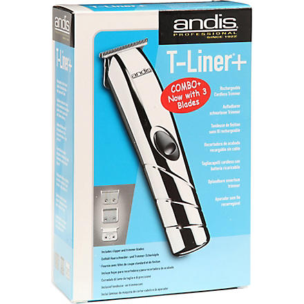 ANDIS T-Liner cordless clipper and trimmer