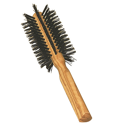 REDECKER Olive wood round hairbrush