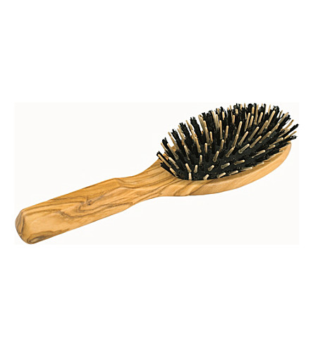 REDECKER Wooden bristle and pin hairbrush