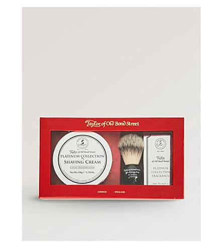 TAYLOR OF OLD BOND STREET Platinum Shaving Collection set