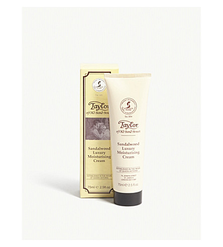 TAYLOR OF OLD BOND STREET Sandalwood moisturiser 75ml