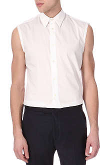 ACNE Chatwin sleeveless vest shirt