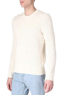 ACNE Cusco bubble-knit jumper