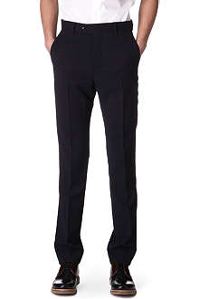 ACNE Drifter textured slim-fit trousers