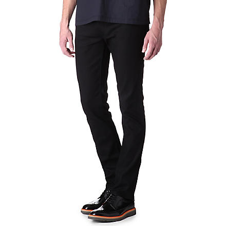 ACNE Max New Cash slim-fit jeans (Black