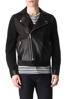 ACNE Mel leather jacket