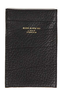 ACNE Leather iPhone case
