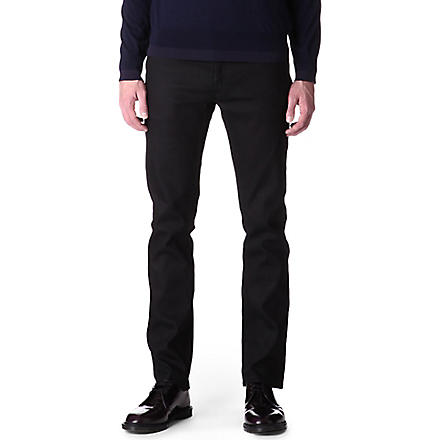 ACNE Roc Cash regular-fit tapered jeans (Black