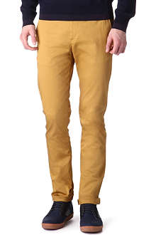 ACNE Roc satin slim-fit chinos