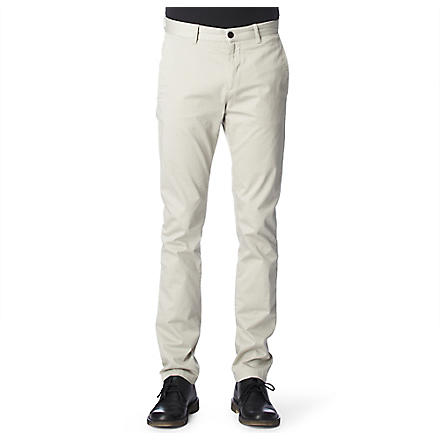 ACNE Roc Satin chinos (Silver