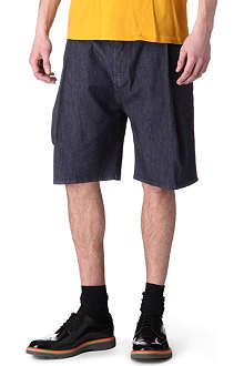 ACNE Welles denim shorts
