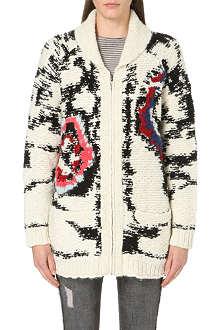 ISABEL MARANT ETOILE Serra arty knitted cardigan