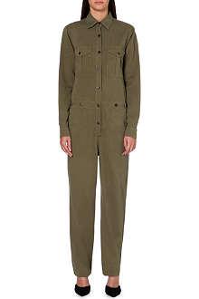 ISABEL MARANT ETOILE Warren cotton-blend jumpsuit