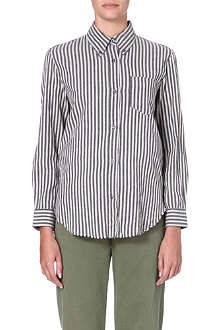 ISABEL MARANT ETOILE Striped cotton shirt