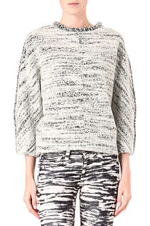 ISABEL MARANT Ilene boiled-wool jumper