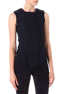 ISABEL MARANT Moss silk-crepe top