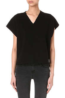 ISABEL MARANT ETOILE Katerina cotton-blend top