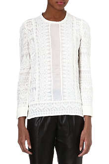 ISABEL MARANT Tess embroidered top