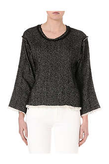 ISABEL MARANT Tweed top