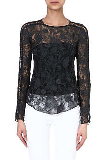 ISABEL MARANT Mora lace embroidery top