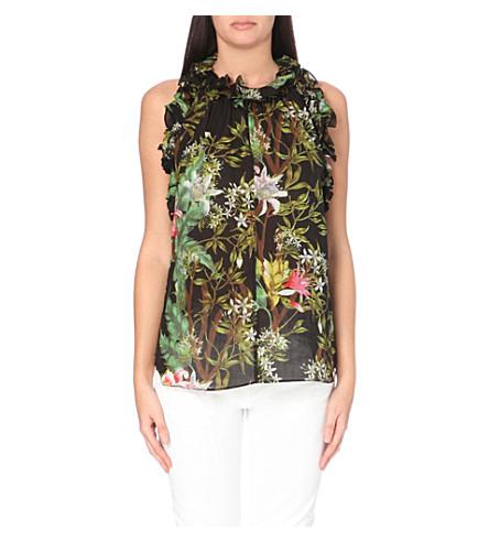 Isabel Marant Etoile Floral Blouse 56