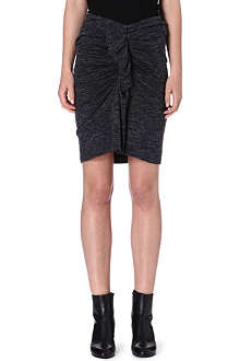 ISABEL MARANT ETOILE Mills gathered jersey skirt