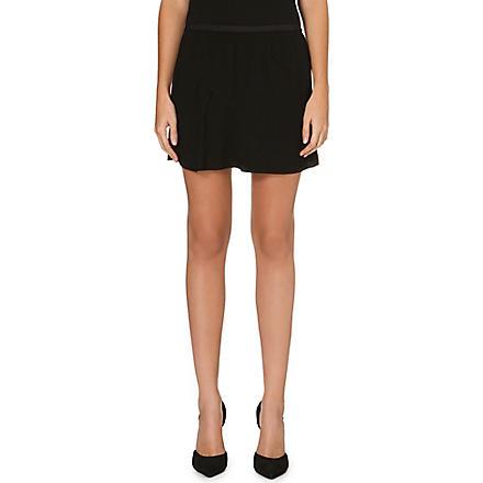 ISABEL MARANT ETOILE Anais crepe mini skirt (Black