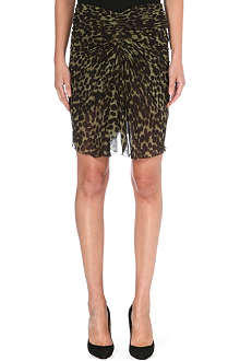 ISABEL MARANT ETOILE Leopard print chiffon skirt