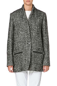 ISABEL MARANT ETOILE Denver tweed coat