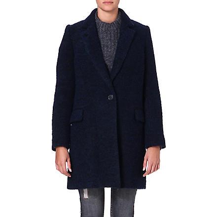 ISABEL MARANT ETOILE Daphne wool-blend coat (Midnight