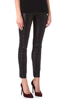 ISABEL MARANT Ice leather trousers