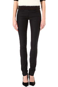 ISABEL MARANT Nyoka coated trousers